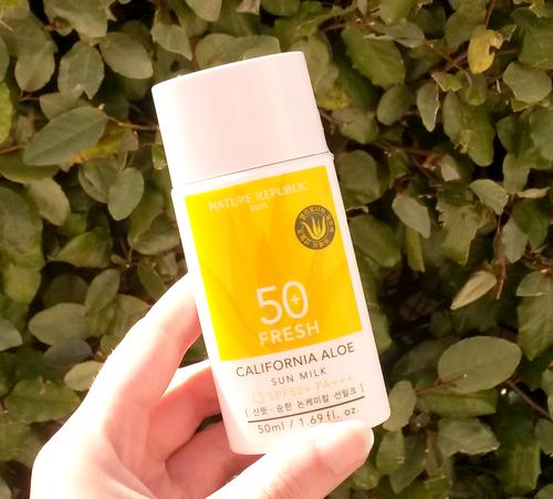 Fresh-California-Aloe-Sun-Milk-SPF50-Nature-Republic