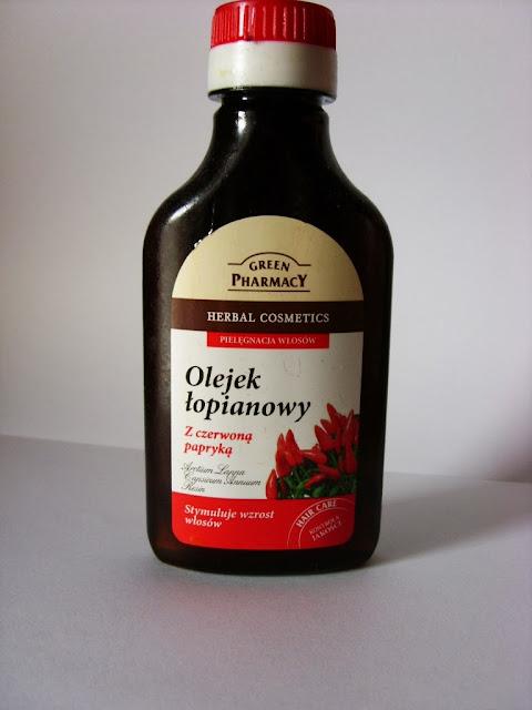 green pharmacy olejek łopianowy