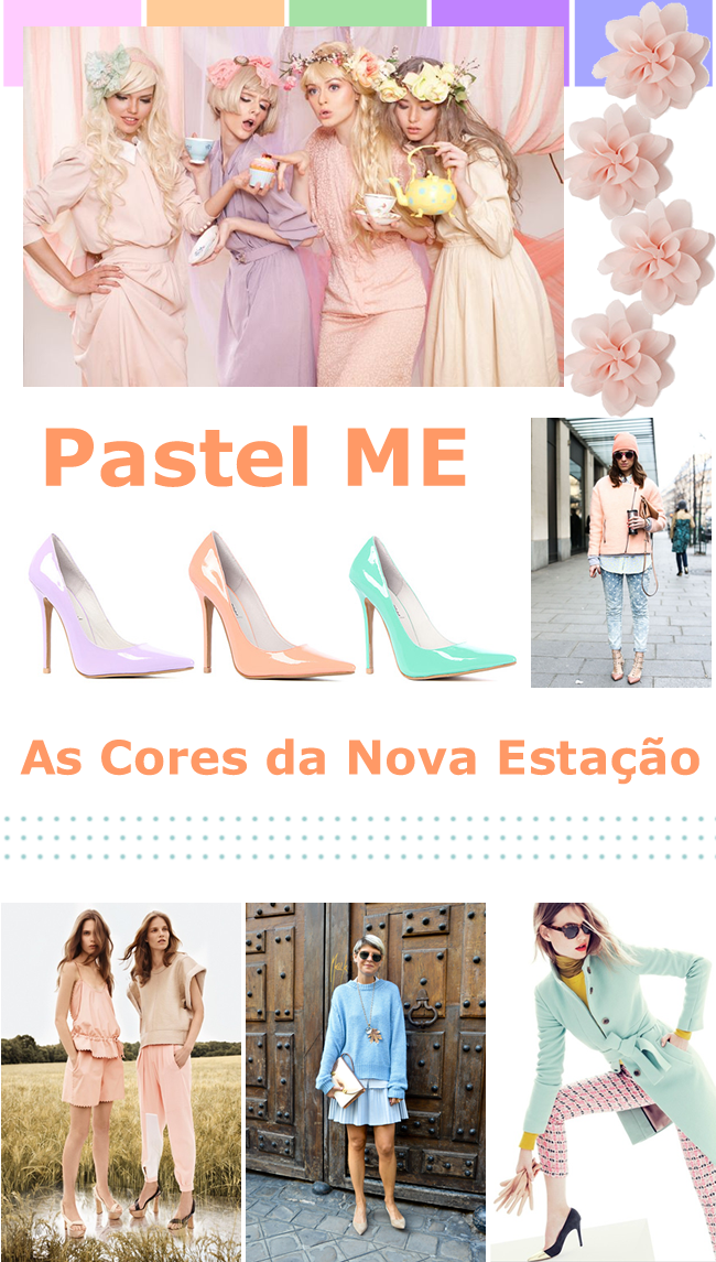 spring pastel color fashion trend