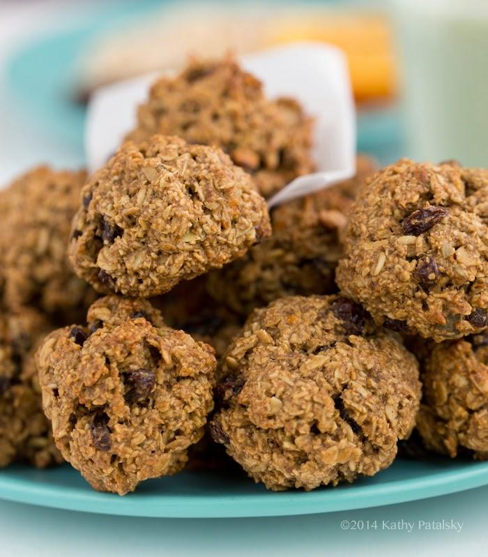 vegan flour free oatmeal cookies