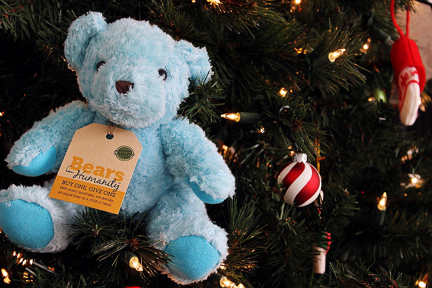 Bears For Humanity: 100% Certified Organic, handmade by employees in the U.S.A., Get A Bear Give A Bear brand!