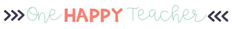 One Happy Teacher