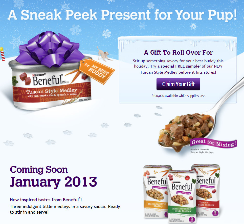 Purina Beneful Puppy Food