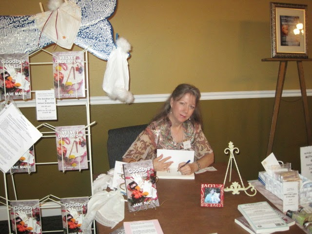 Jane Marie at book signing