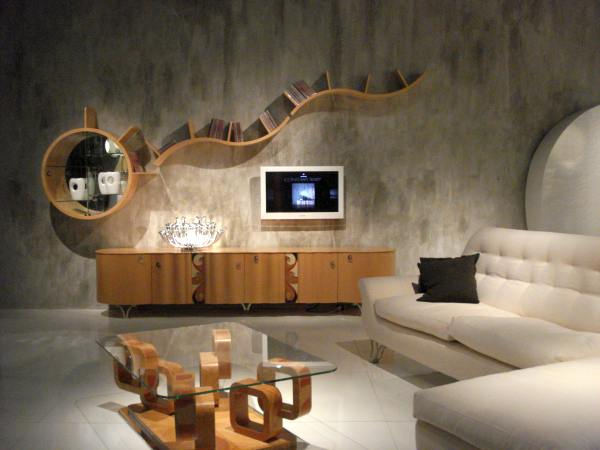 Home Decor 2012: Modern Living Room Decorating Design 2012