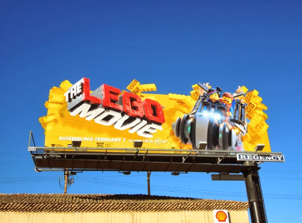 Lego Movie special extension billboard