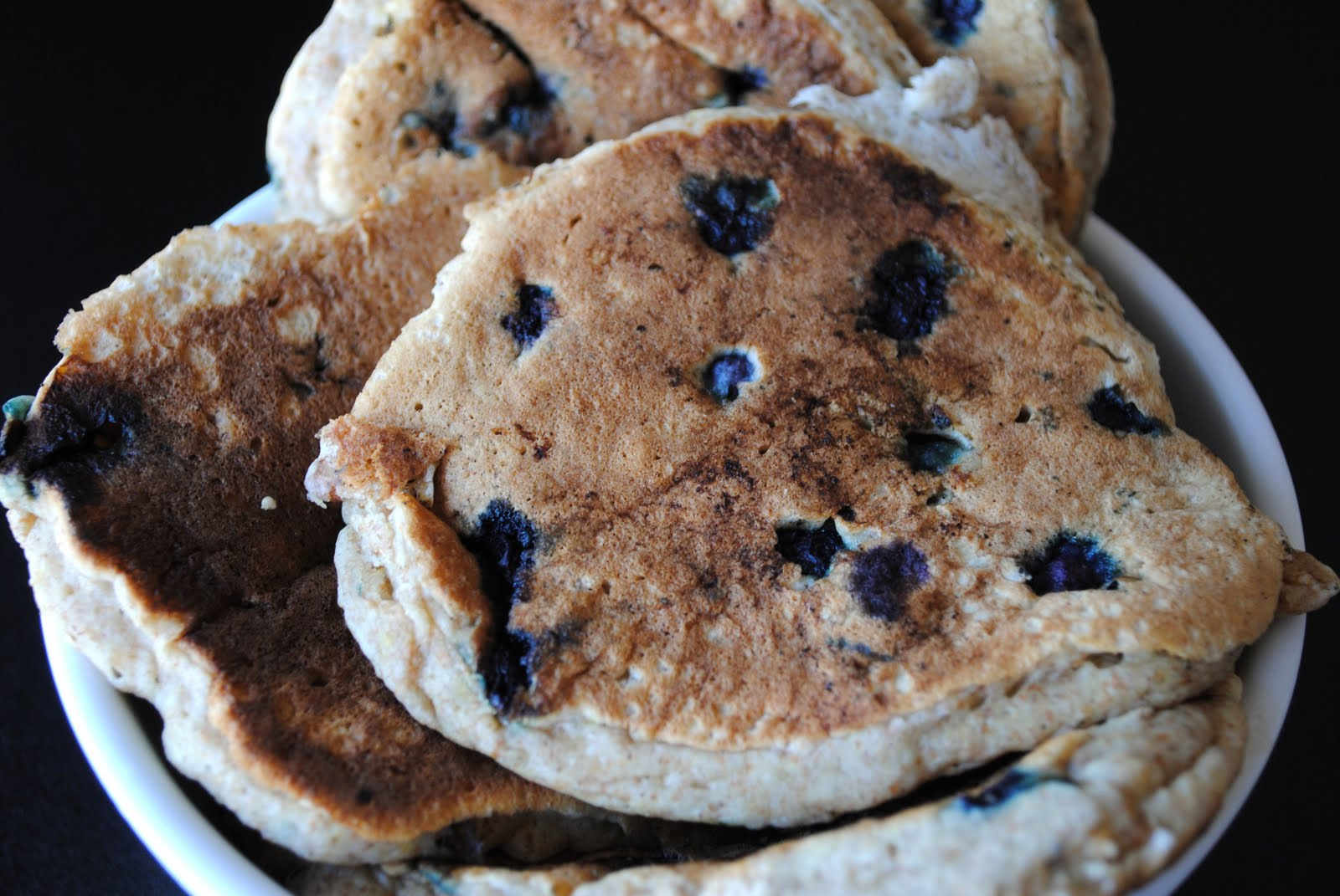 The 'Chefski Digest: Oatmeal Buttermilk Blueberry Pancakes