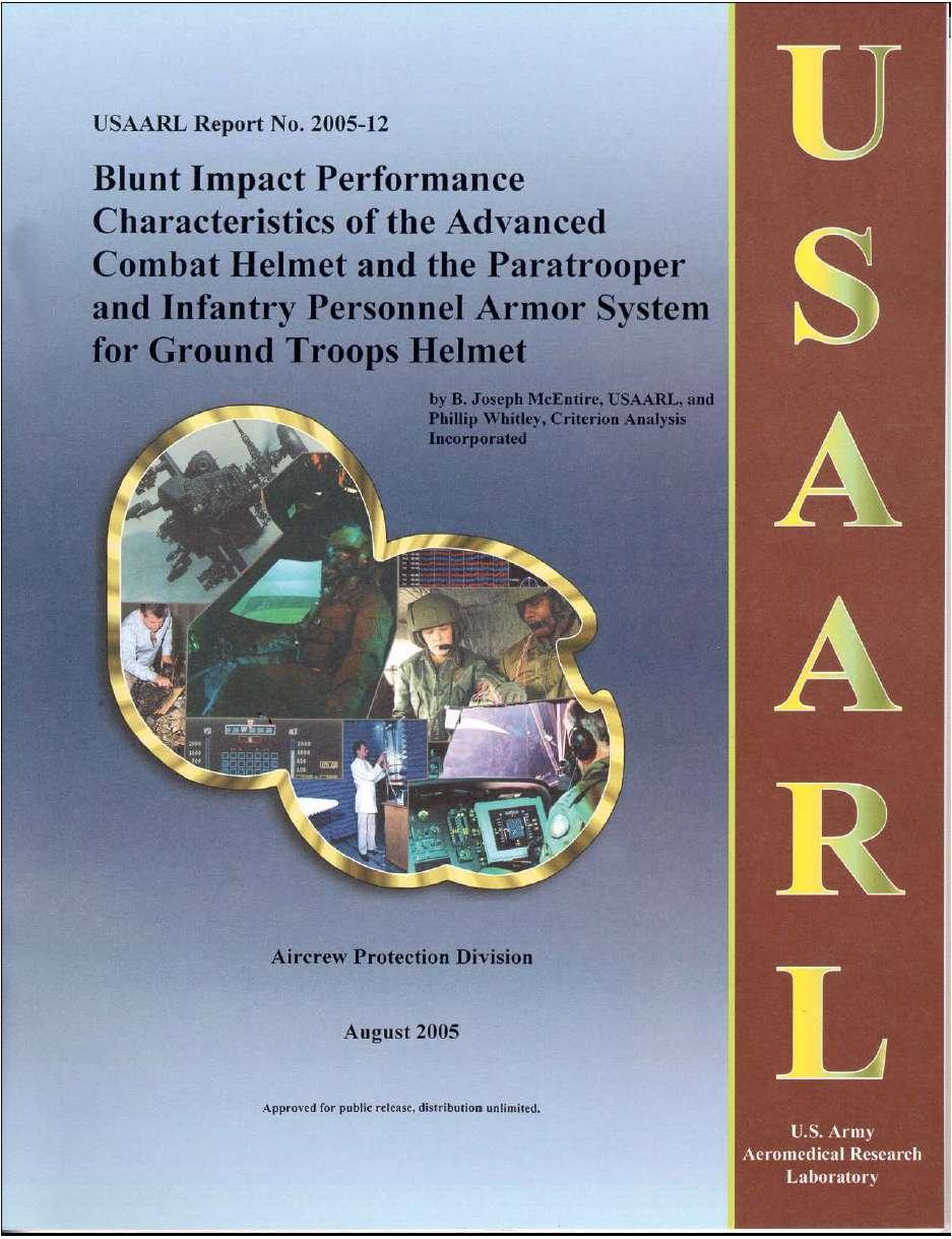 Documentación de cascos. Blunt+Impact+Performance+Characteristics++01