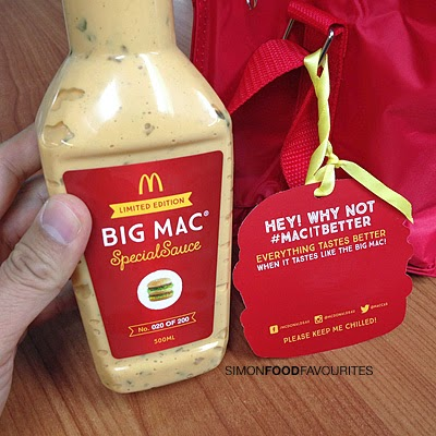 ... Limited Edition Big Mac Special Sauce #macitbetter (2 Feb 2015