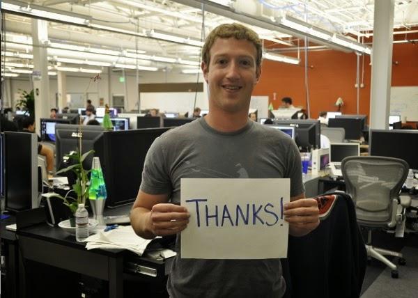 Facebook đạt mốc 500 triệu người dùng