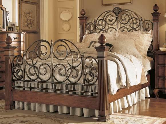 Mi casa mi hogar camas matrimoniales en hierro forjado - Camas de forja antiguas ...
