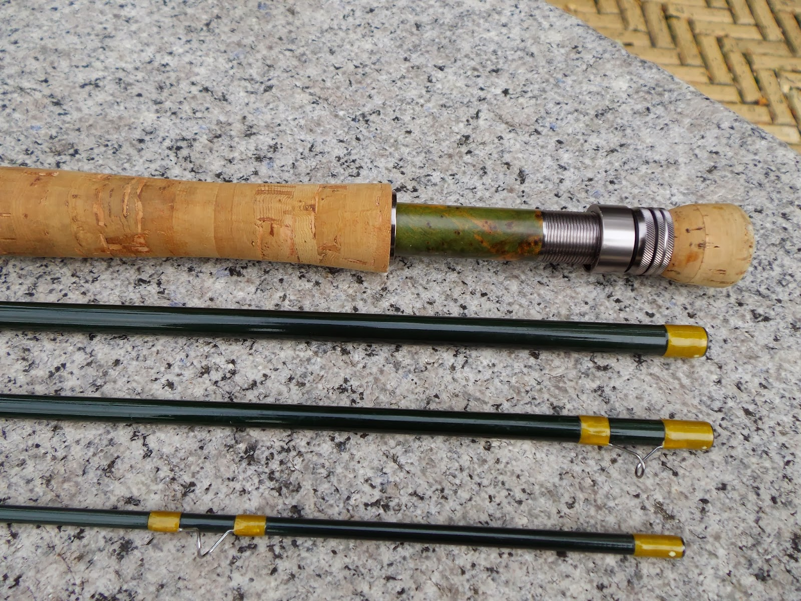 Eleven foot custom made fly rods the great lakes of nyc for Fishing rod blanks