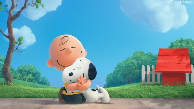The Peanuts Movie Snoopy e Charlie Brown