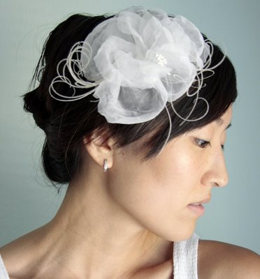 flower wedding hair pieces