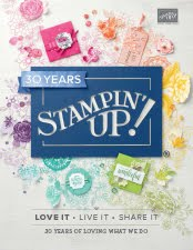 The 2018 - 2019 Stampin'Up! Catalogue.