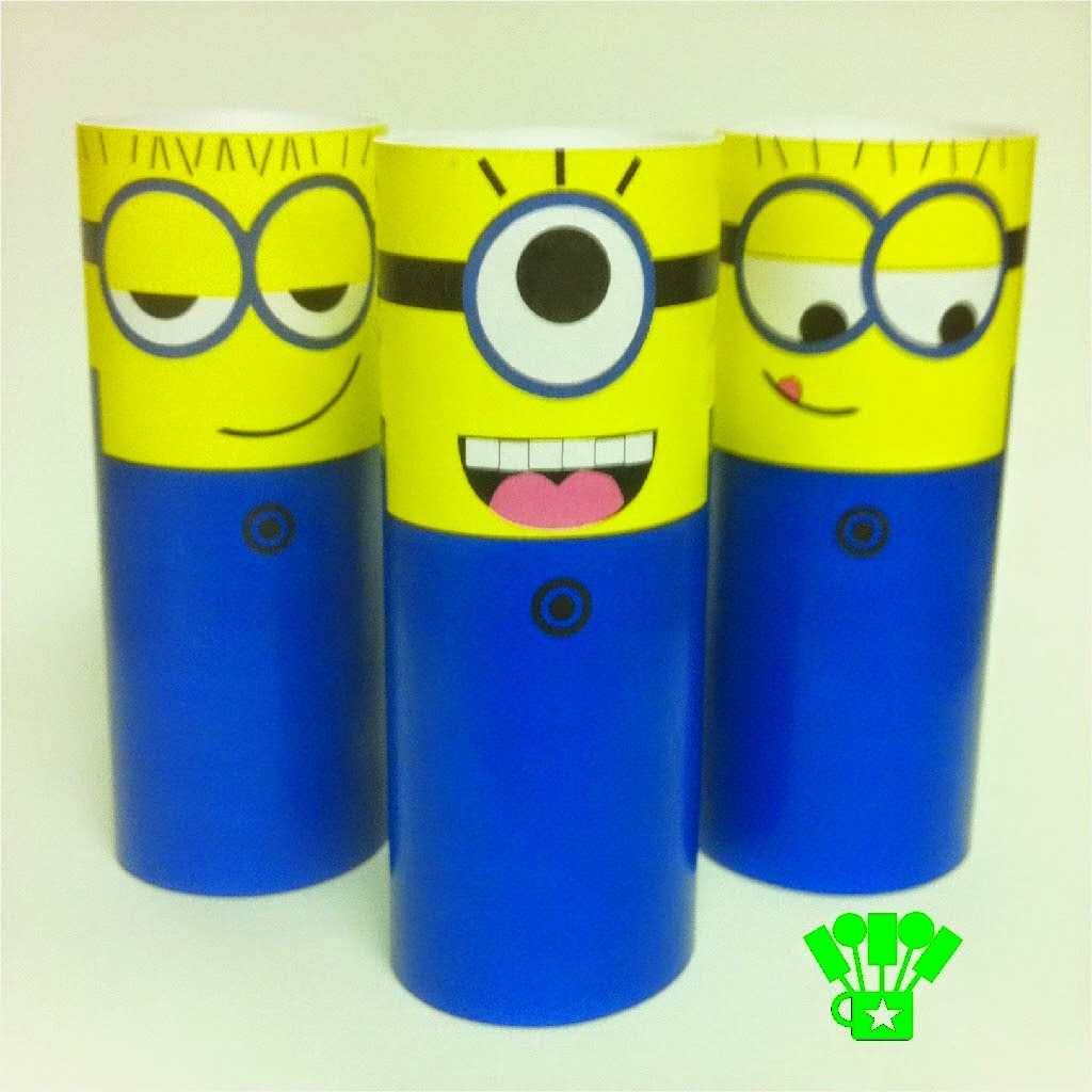 Printable Despicable Minion Toilet Paper Craft