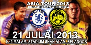 Harimau Malaya vs Chelsea 21 July 2013