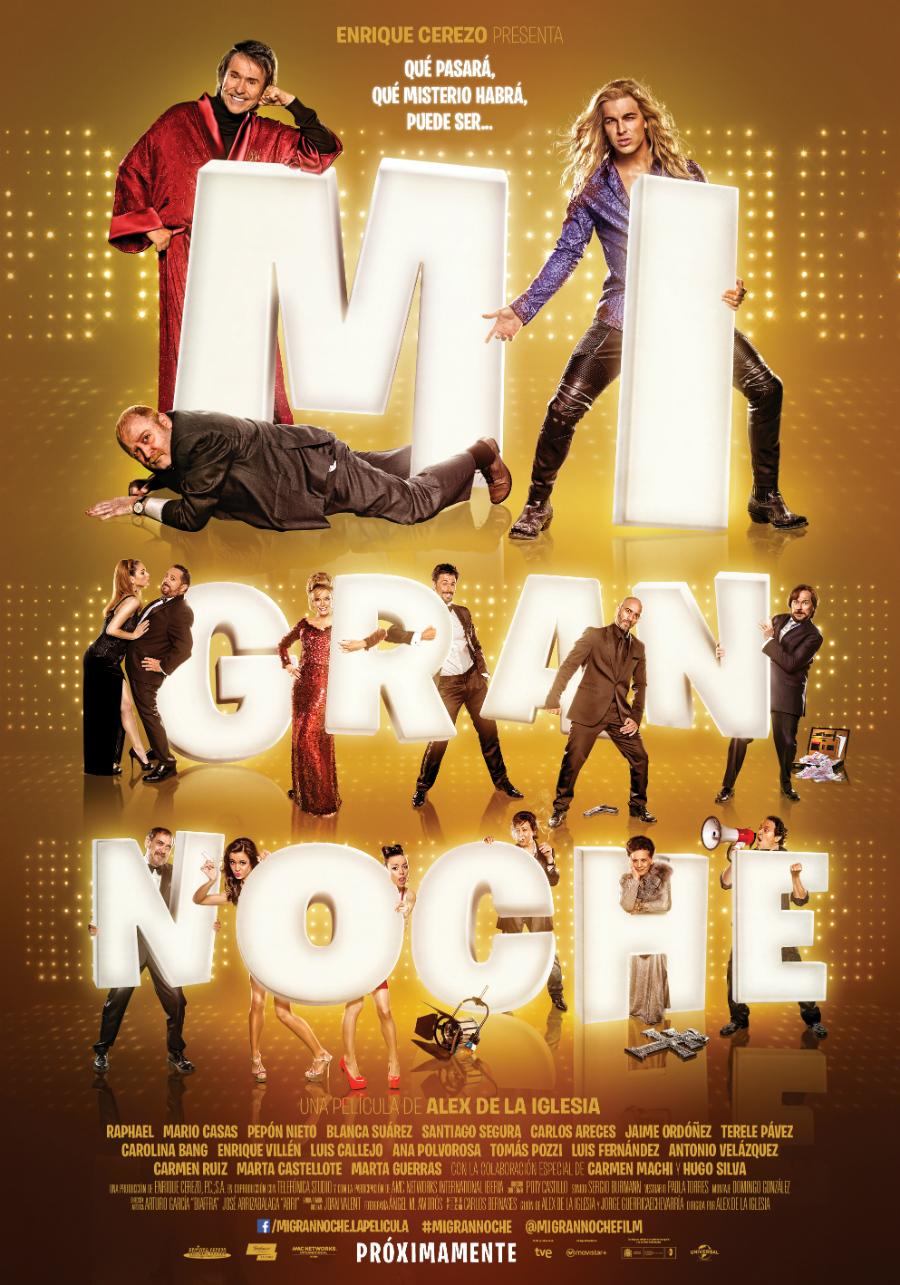 "Crítica de ""Mi Gran Noche"" (Álex de la Iglesia, 2015) por Iván Suárez  Martínez"