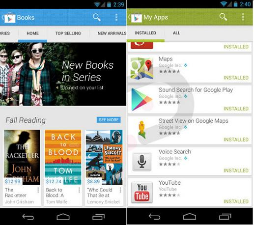 Google's Play Store v4.0 May Soon Get Redesigned UI