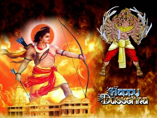whatsapp dussehra cards, pictures, images