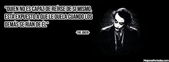 Frase de The Joker - Portada Facebook