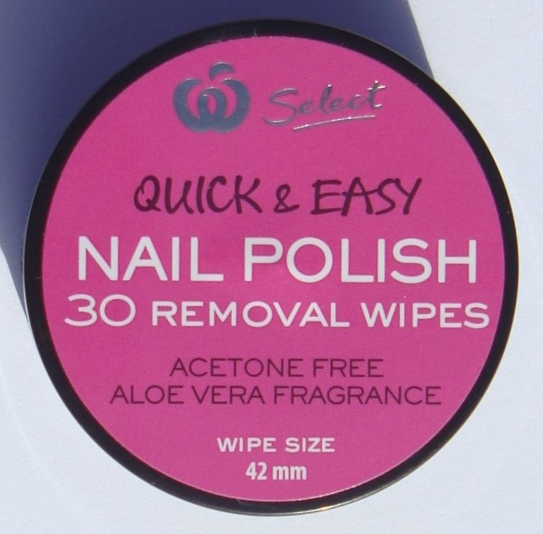 little white truths: Woolworths Select Quick & Easy Nail Polish 30 ...