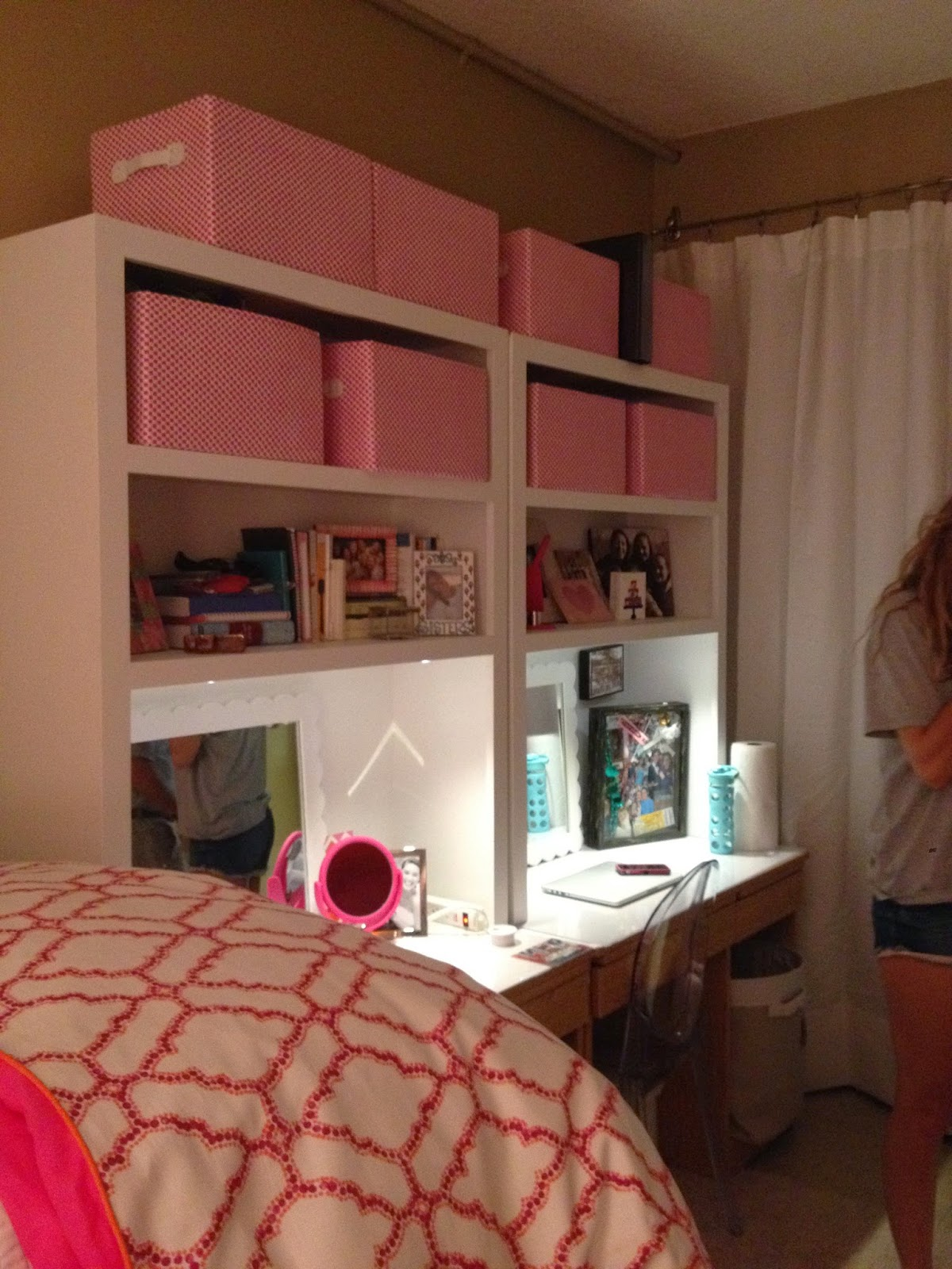 Hutches Were Made For The Dorm Desks To Provide Extra Storage. Part 79