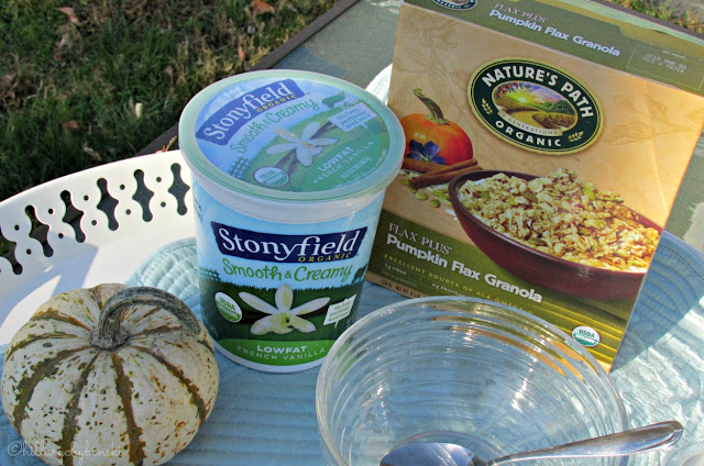 Stonyfield Yogurt and Nature's Path Organic Granola