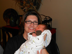 Grandma (Marcy) and baby Caleb