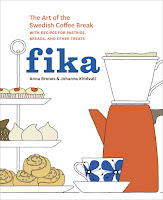 fika: the art of the swedish coffee break by anna brones and johanna kindvall book cover