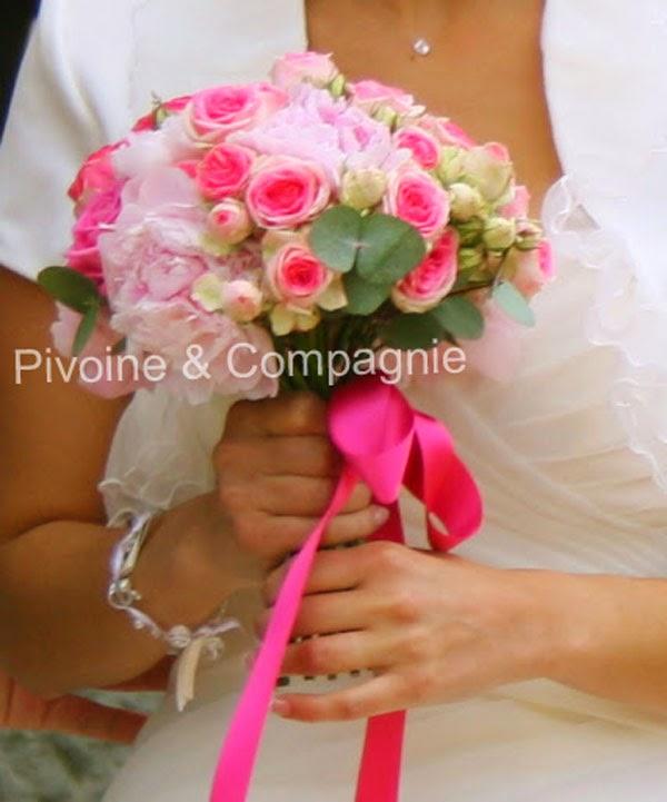 Pivoine mariage - Bouquet pivoine mariage ...