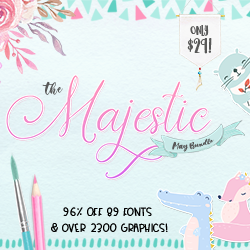Use code 20MAY to save 20% off the Majestic May bundle