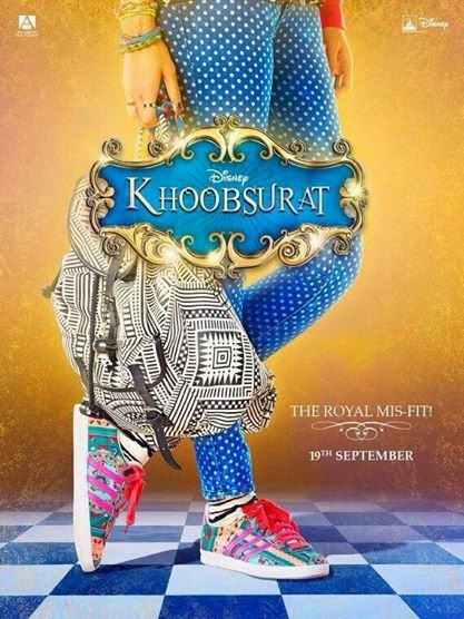 Sonam Kapoor's Khoobsurat movie first look poster