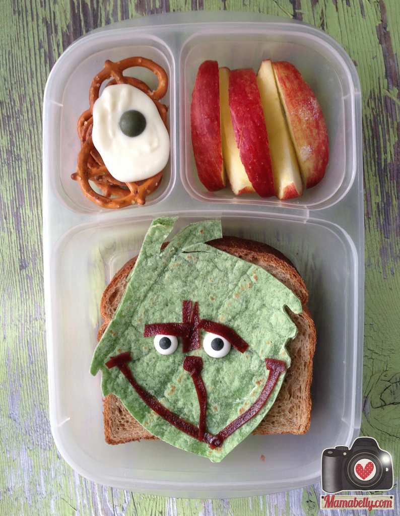 sandwich - The Grinch from How The Grinch Stole Christmas