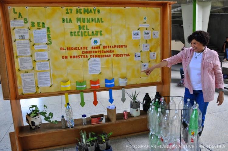 Nelly Araujo considera que se ha multiplicado bien la información sobre el reciclaje de botellas Pet y plásticos, a los cuales se les puede dar muchos usos. (Foto: Lánder Altuve)