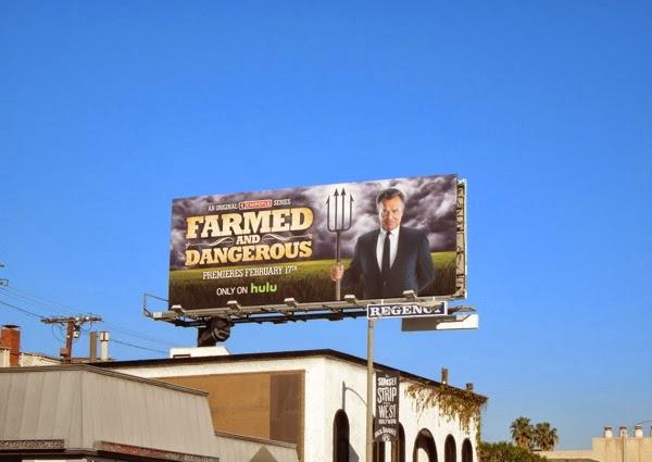 Farmed and Dangerous billboard