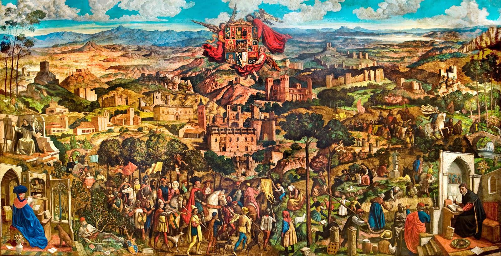 El blog de guadalajara y cuenca los retablos de v ctor for El mural guadalajara