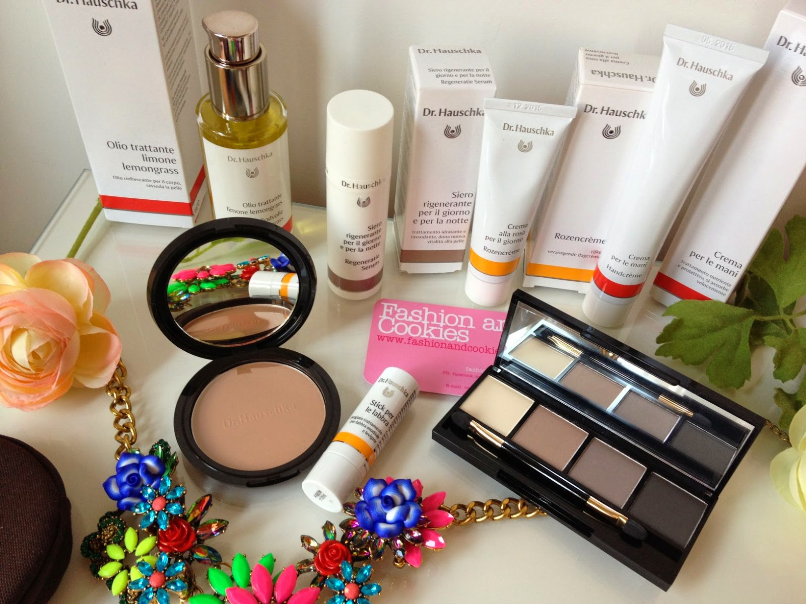 Dr Hauschka beauty and skincare haul, Fashion and Cookies, fashion blogger
