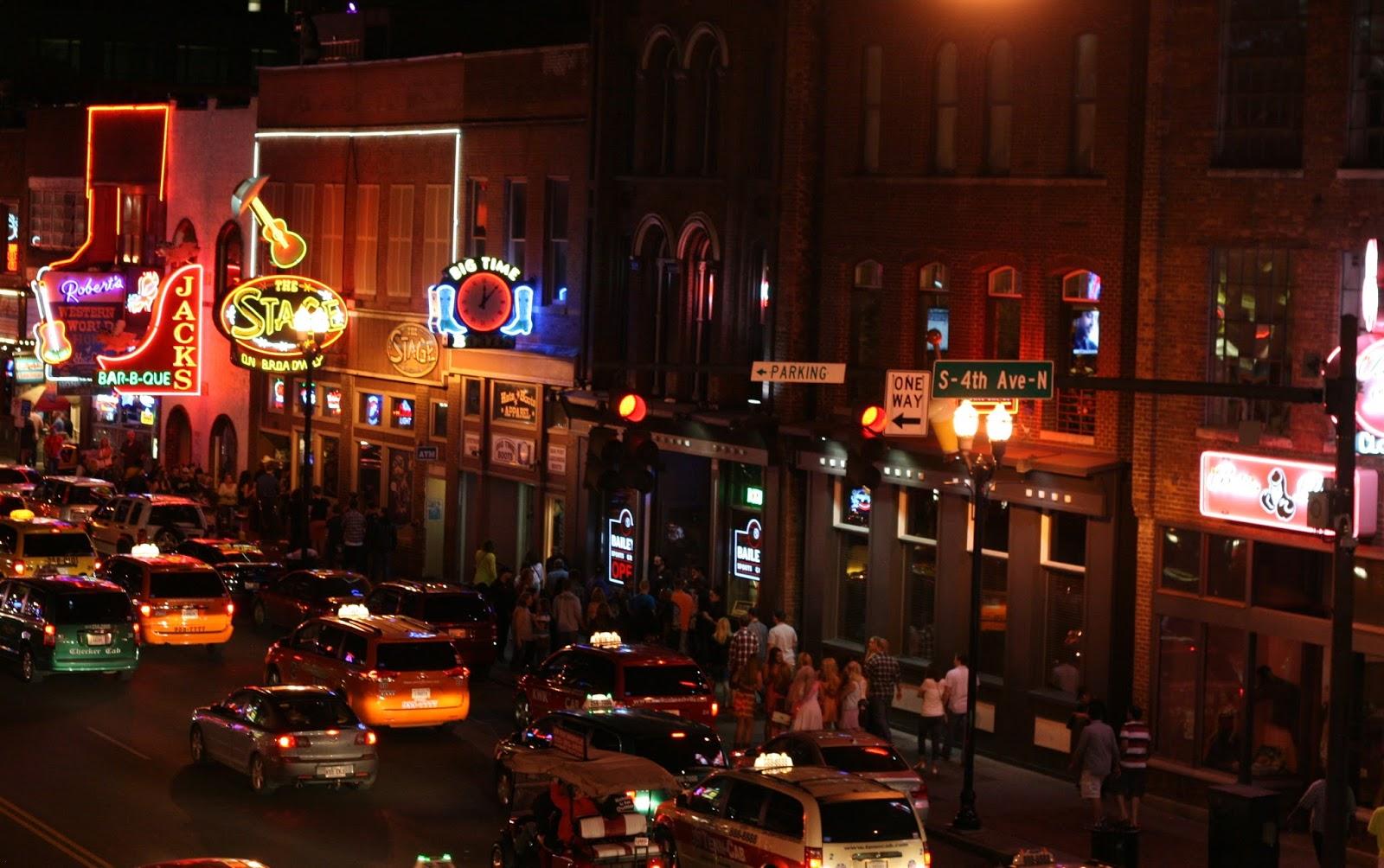 Nashville Broadway Strip Music City