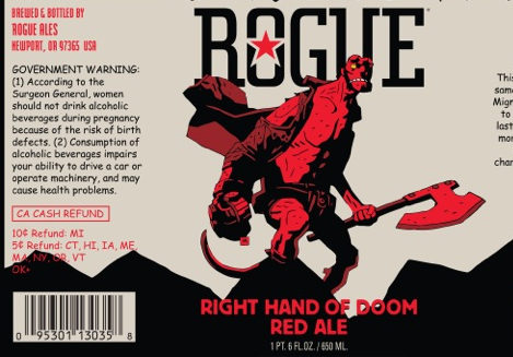 DRINK Right Hand Of Doom, the Limited Edition Hellboy Beer