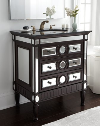 Copy Cat Chic: Horchow Emerson Mirrored Sink Chest