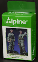 Review: Alpine Miniatures Otto Carius and NCO set in 35th scale
