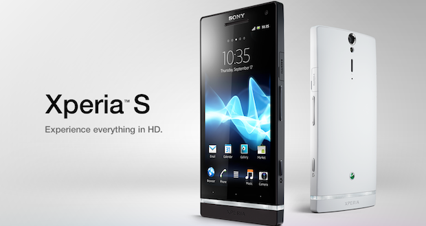 The first Xperia S phone comes under SONY in 2012