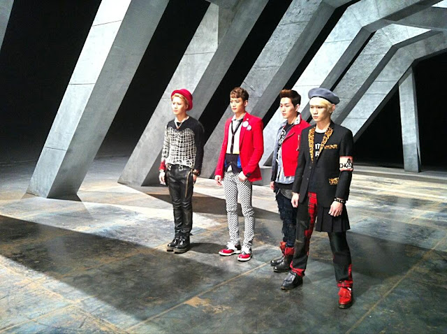 Shinee Why So Serious mv bts image 2