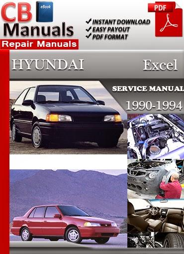 online manuals hyundai excel 1990 1994 service manual. Black Bedroom Furniture Sets. Home Design Ideas