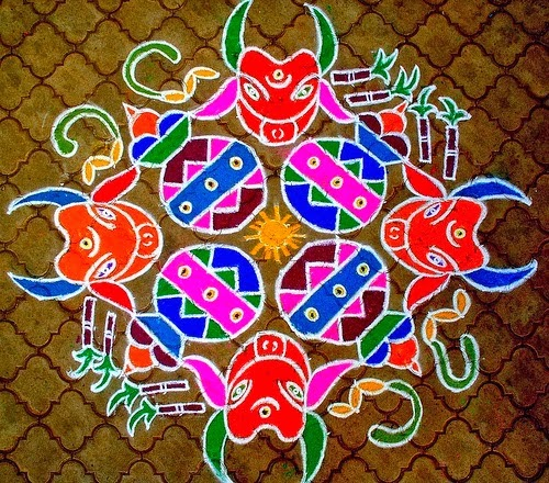 Pongal Kolam Designs Simple Pongal Kolam Happy Birthday Wishes Quotes Cakes Messages Sms
