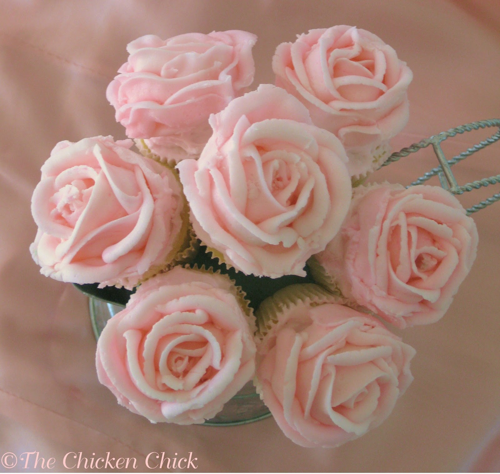 Cupcake Bouquet Tutorial The Chicken Chick
