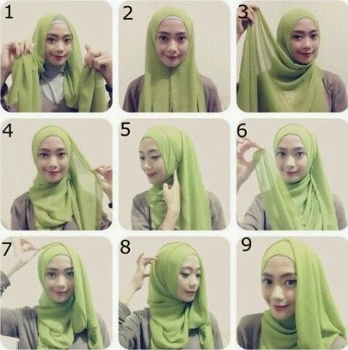 Tutorial Hijab Pashmina Untuk Santai