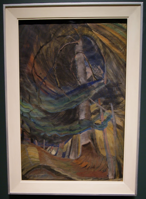From the Forest to the Sea: Emily Carr in British Columbia Exhibit at Art Gallery of Ontario in Toronto, exhibition, paintings, forest, Canada, artist, woman, AGO, culture, art,artmatters, The Purple Scarf, Melanie.Ps, native, aboriginal, tree, spiralling upward