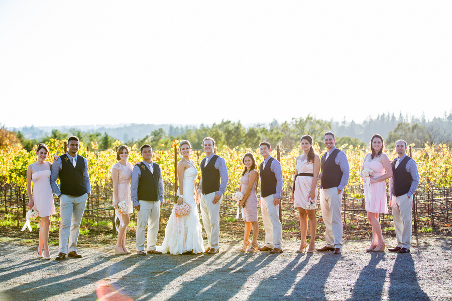 deloach winery wedding